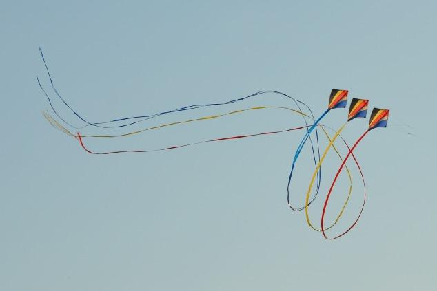 3 kites