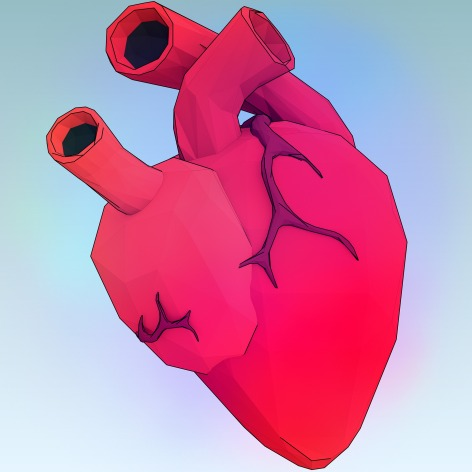 Real Heart Graphic