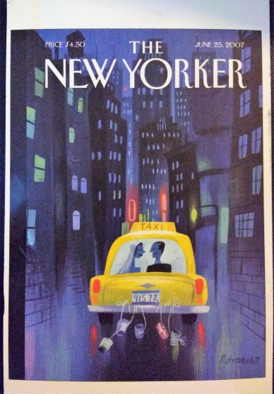 New Yorker Postcard